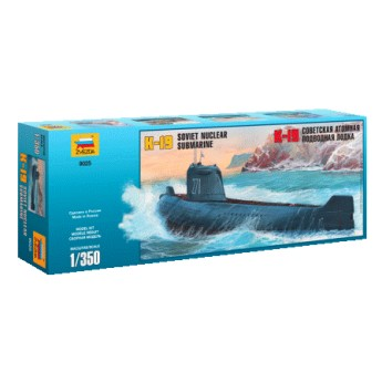 """Подводная лодка """"К-19"""" (1:350)"""