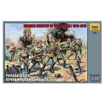 Русская пехота 1 Мировой войны (1:72)