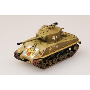 Easy Model 36259 Готовая модель танка M4A3 E8 Sherman 64 танковый батальон (1:72)