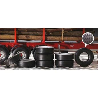 Аксессуары колеса для прицепа или фуры (1:24)