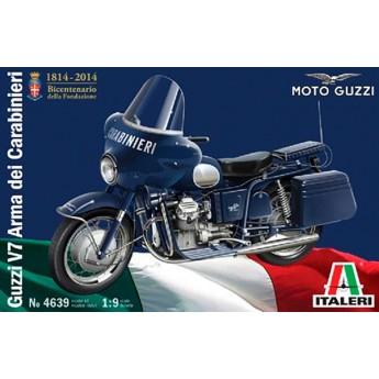 Мотоцикл GUZZI V7 Arma dei carabinieri (1:9)