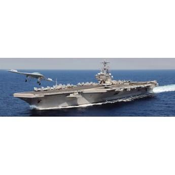 Корабль U.S.S. GEORGE H.W.BUSH CVN 77 (1:720)