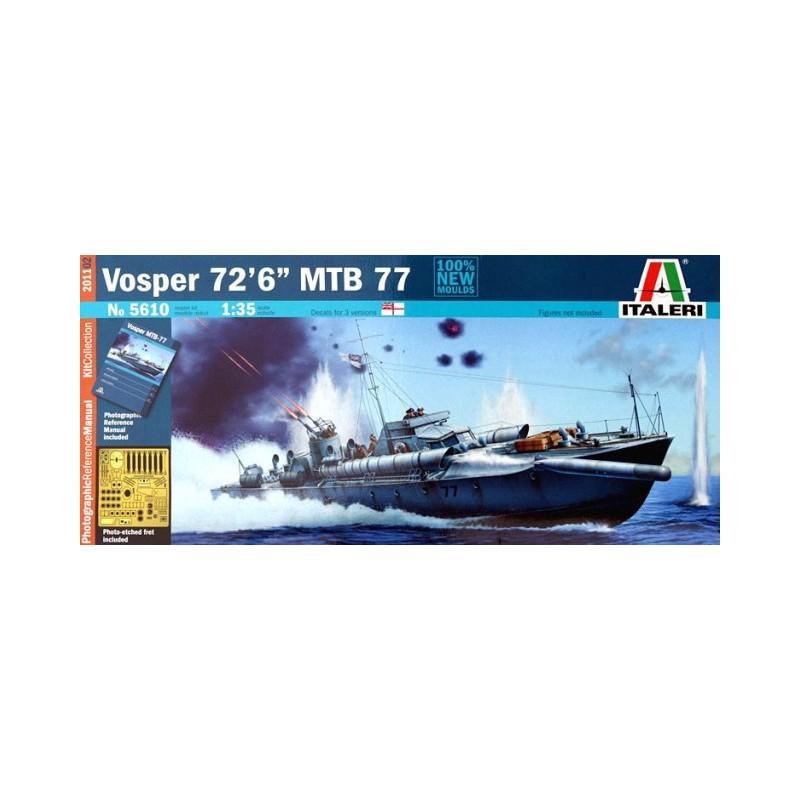 """Italeri 1//35 VOSPER 72/' 6/"""" MTB 77 # 5610"""