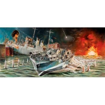 Корабль Vosper MTB 74 St. Nazaire Raid (1:35)