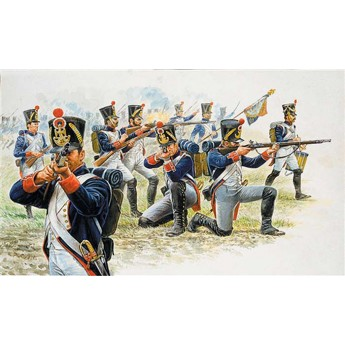 Солдаты 'FRENCH LINE INFANTRY (NAP.WARS) (1:72)
