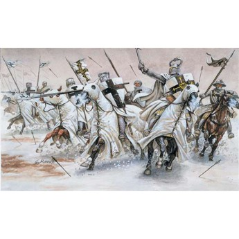 Солдаты TEUTONIC KNIGHTS (MEDIAVAL ERA) (1:72)