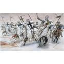 ITALERI 6019 Солдаты TEUTONIC KNIGHTS (MEDIAVAL ERA) (1:72)