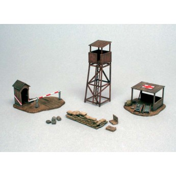 Диорама BATTLEFIELD BUILDINGS (1:72)