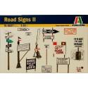ITALERI 6527 Аксессуары дорожные знаки и столбы (1:35)