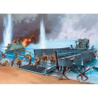Корабль LCM 3 50' LANDING CRAFT (1:35)