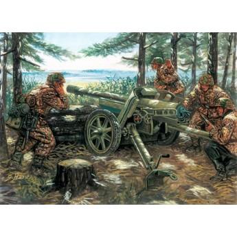 Пушка PAK 97/38 AT GUN with crew (1:35)