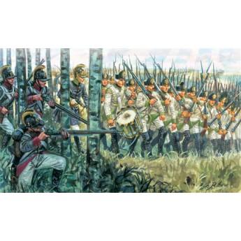 Солдаты NAPOLEONIC WARS - AUSTRIAN INFANTRY 1798-1805 (1:32)
