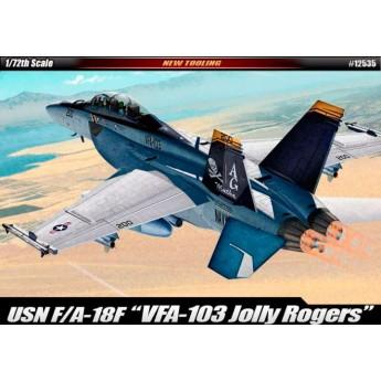 """Модель самолета USN F/A-18F """"VFA-103 Jolly Rogers"""" (1:72)"""