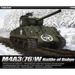 "Модель танка M4A3 (76)W ""Battle of Bulge"" (1:35)"