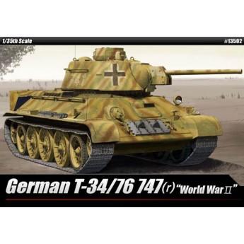 Модель танка German T-34/76 747(r) (1:35)