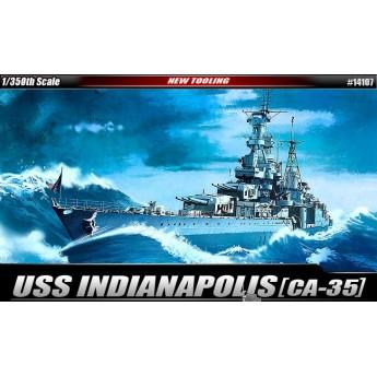 Корабль USS CA-35 INDIANAPOLIS (1:350)