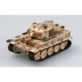 "Easy Model 36217 Готовая модель танка Tiger I late type (Тигр 1 поздний) ""Totenkopf"" Panzer Division 1944 г Tiger 912 (1:72)"
