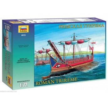 Корабль Римская трирема (1:72)