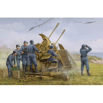 Немецкая 37mm зенитка Flak 43 (1:35)