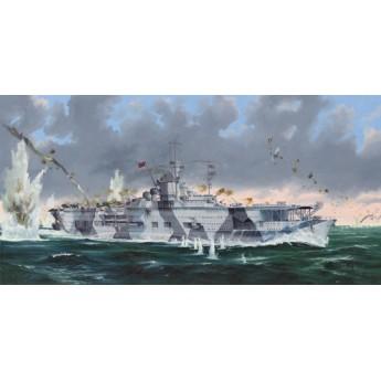 Немецкий авианесущий крейсер Граф Цеппелин (1:350)