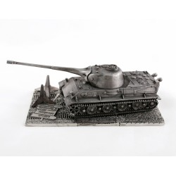 HeavyMetal.Toys Модель танка Löwe из металла с подставкой (1:72)