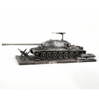 HeavyMetal.Toys Модель Танка ИС-7 из металла с подставкой (1:72)