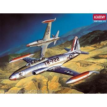 Модель самолета T-33A Shooting Star (1:48)