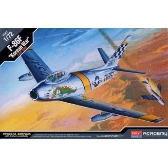 """Academy 12546 Сборная модель самолета F-86F """"Korean War"""" (1:72)"""