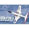 "Модель самолета USN F2H-3 VF-41 ""Black Aces"" (1:72)"