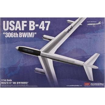 Academy 12618 Сборная модель самолета USAF Boeing B-47 (1:144)