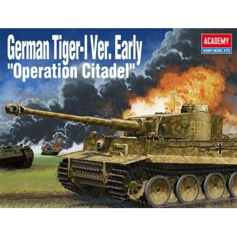 "Academy 13509 Сборная модель танка German Tiger-I Ver Early ""Operation Citadel"" (1:35)"