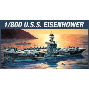 Academy 14212 Сборная модель корабля USS Eisenhower (1:800)