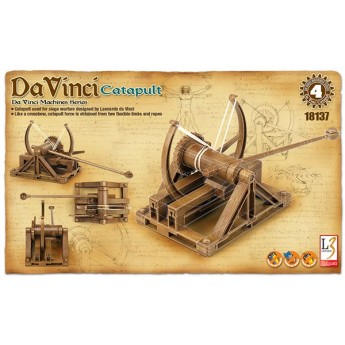 Academy 18137 Сборная модель катапульты Леонардо да Винчи