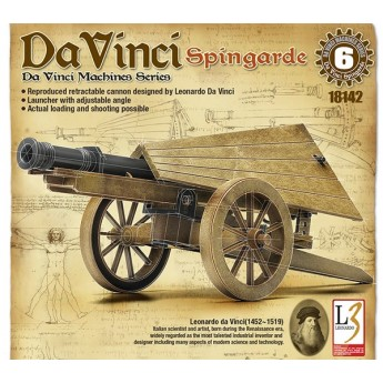 Academy 18142 Сборная модель пушки Леонардо да Винчи