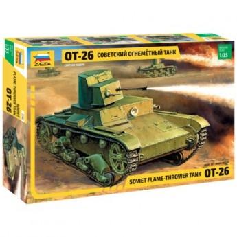 Звезда 3540 Сборная модель танка ОТ-26 (1:35)