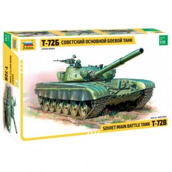 Звезда 3550 Сборная модель танка Т-72Б (1:35)