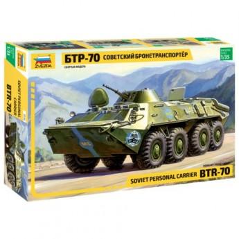 Звезда 3556 Сборная модель бронетранспортера БТР-70 (1:35)