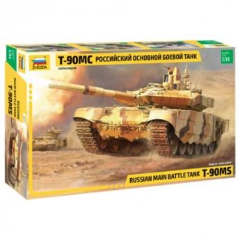 Звезда 3675 Сборная модель танка Т-90МС (1:35)