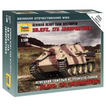 """Звезда 6183 Сборная модель танка Sd.Kfz. 173 """"Ягдпантера"""" (1:100)"""