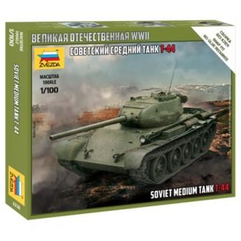 Звезда 6238 Сборная модель танка Т-44 (1:100)