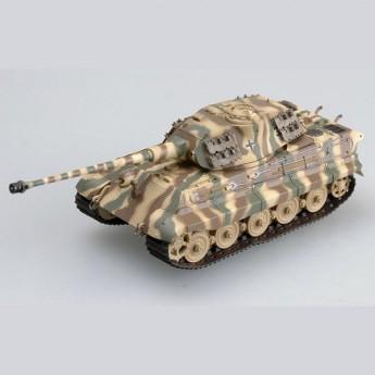 Easy Model 36298 Готовая модель танка Tiger II Pz Abt 503 (башня Порше) King Tiger (1:72)
