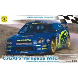 Моделист 604309 Сборная модель легкового автомобиля Субару Импреза WRC (1:43)