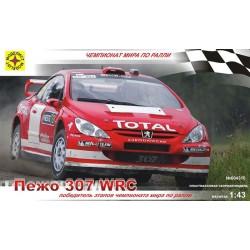 Моделист 604310 Сборная модель легкового автомобиля Пежо 307 WRC (1:43)