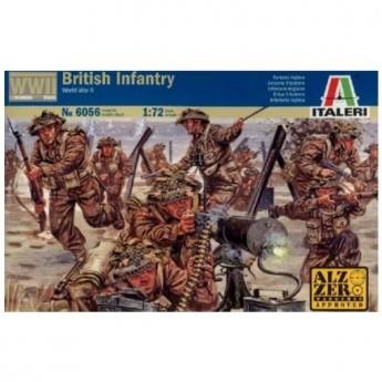 ITALERI 6056 Солдаты WWII - British Infantry (1:72)