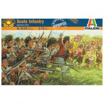 ITALERI 6136 Солдаты Scots Infantry Napoleonic Wars (1:72)