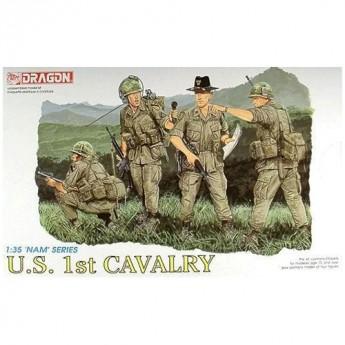 Dragon 3312 Фигуры U.S. 1st Cavalry (1:35)