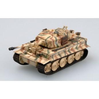 "Easy Model 36218 Готовая модель танка Tiger I (поздний) ""Totenkopf"" Panzer Division 1944 г Tiger 912 (1:72)"