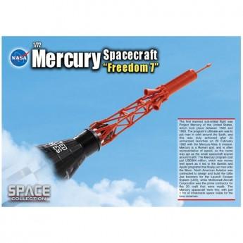 "Dragon 50384 Сборная модель космического аппарата Mercury Spacecraft ""Freedom 7"" (1:72)"
