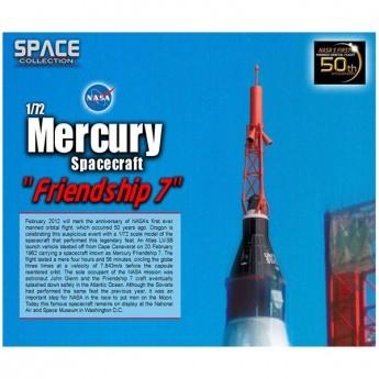 "Dragon 50394 Сборная модель космического аппарата Mercury Spacecraft ""Friendship 7"" (1:72)"