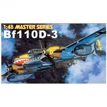 Dragon 5555 Сборная модель военного самолета Messerschmitt Bf110D-3 (1:48)